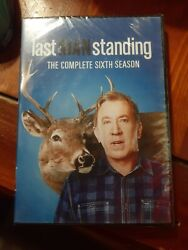 Last Man Standing The Complete 6th Season Dvd 3 Disc Set New/sealed Free Sandh