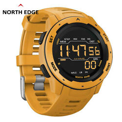 North Edge Mars Outdoor Sports Watch Support Fstn Screen Distence Pedometer Gift