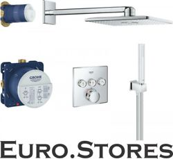 Grohe Smartcontrol Concealed Shower System With Rainshower 310 Smartactive Cube