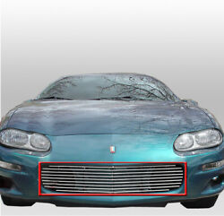 1998-2003 Chevy Camaro Coupe Convertible Front Bumper Billet Grille Grill Insert