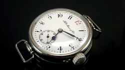 Hy Moser And Cie Military Style 1916and039s Rare Officerand039s Trench Watches