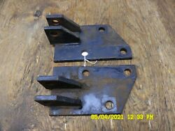 John Deere 420 Right And Left 3 Point Hitch Bracket Am39117 / Am39116
