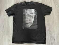 Rare Vtg Harry Potter And The Deathly Hallows Pt 2 Movie Promo T Shirt Voldemort
