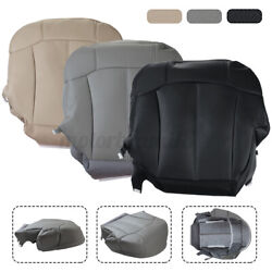 Front Driver Side Bottom Seat Cover PU Leather For Chevy Suburban 1999 2002 $47.33