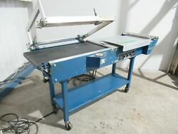 wrapomatic L-bar Sealer Model Lec 20x32 25 Inches Wide 220 Volts Tested