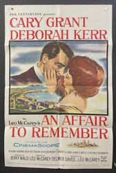 An Affair To Remember Original Movie Poster - Grant Kerr Hollywood Posters