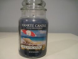 YANKEE CANDLE BEACH VACATION CANDLE
