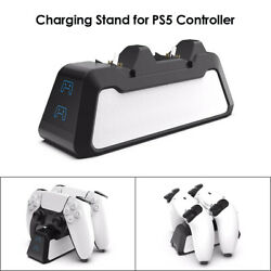 Ps5 Dualsense Controller Charging Dock Station Dual Charger Usb Made For Ps5 Us