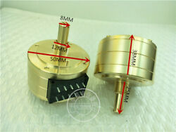 1pc 50 Type Double Potentiometer Gold-plated Shell 100kax2 A100k Alps