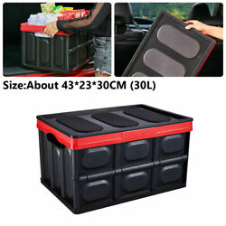 30l Multi-function Car Truck Box Auto Move Storage Large Box Tool Pack Oversized