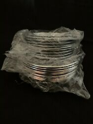 Lot Of 24 Cooktop Drip Bowls 8 Ge Hotpoint Chrome Electric Range Burner
