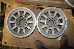 Western Bullet Mag Wheels 15x7 Chevy, Ford, Mopar 5 On 4-1/2 And 4 3/4, 5 On 5
