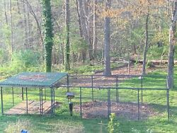 Tarter Farm And Ranch Elite Series Shingle Roof Covered Dog Kennel 10' X 30'