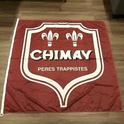 Chimay Belgian Beer Large Wall Banner Flag 56x 56 Trappist Peres Trappistes