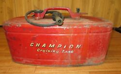 Vintage Champion Outboard Cruising Tank