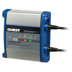 Guest 2708a On-board Battery Charger 5a 12v 1 Bank 120v