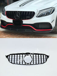 Mercedes C Class W205 2015-2017 Front Grill Camera Tuning Abs Sobmart