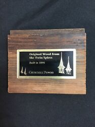 Original Wood From The Twinspires Built In 1895 Churchill Downs Kentucky Derby