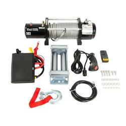 Classic 9500lbs 12v Electric Recovery Winch Truck Suv Wireless Remote Control Us