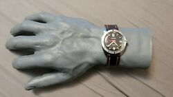 Vintage Waltham B-339 Stainless Steel Automatic Diver Menand039s Watch
