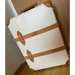[for Parts] Globe Trotter Safari 2-wheel Suitcases Ivory/natural 21