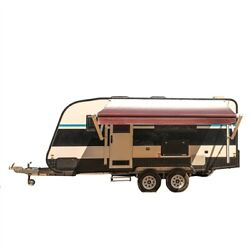 Motorized Rv 21 Ft Awning Complete Retractable Electric Arms Kit Trailer Awning