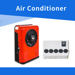 White Color 12 Volt A/c Kit Air Conditioner For Rv Boat Truck Yacht Bus