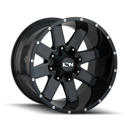 20x10 Ion 141 33 At Black Wheel And Tire Package Set 8x180 Chevy Silverado 2500