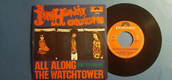 Jimi Hendrix Experience All Along The Watchtower Polydor 7 Italy Rare Ex+