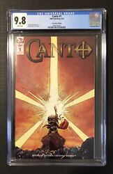 Canto 1 Cgc 9.8 Sdcc Convention Edition Idw Optioned