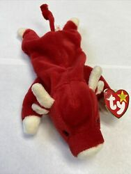 Snort The Red Bull Beanie Baby Rare Vintage 1995