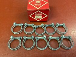 Vintage Murray Double Wire Band Screw Hose Clamp Box 10 Fits 1 Hose
