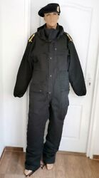 Tank Major Officer Romanian Army Winter Tankman Overalls Coverall Beret