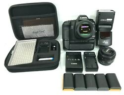 Canon Eos 5d Mark Ii 21.1mp With A Lot More Ds126201 Shutter Count 364