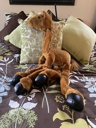 Rare 2003 Sunny Toys Co 38 Large Brown Horse Marionette Excellent Condition