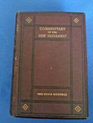Commentary On The New Testament Four Gospels 1881 Right Rev W. Walsham How Rare