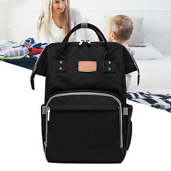 Multi Function Waterproof Travel Backpack Diaper Bags for Baby Care Mom Welcome $19.30