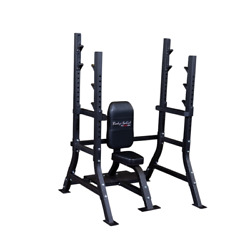 Body-solid Sosb250 Pro Clubline Olympic Shoulder Press Bench New