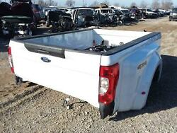 2020 Ford F250sd Truck Bed Bare Box 6and039 9 Box Dually 4x4 White New Take Off Oem