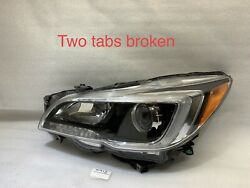 2015 2016 2017 Subaru Legacy Outback Oem Headlight Left Driver Halogen