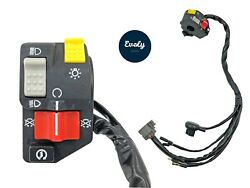 Handlebar Start Button Stop Switch Lights On/off High/low For Honda Trx300ex 99+
