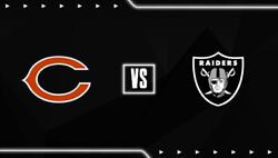 Sec 106 Row 12-las Vegas Raiders Vs Chicago Bears 10/10/21 2 Tickets Sold Out