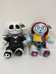 Build A Bear Nightmare Before Christmas Jack Skellington Sally Sounds Outfits