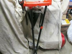 Ridgid Portable Tristand Chain Vise -1/8 To 6 Pipe Vise - 36273