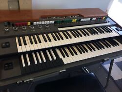 Vintage Yamaha Yc-45d Electric Synth Organ Felt Touch Bar Pickup Only - No Ship