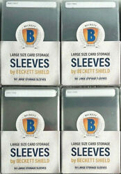 Beckett Semi Rigid Card Holders 200 Count Grading Size Compare To Card Saver
