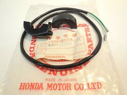 35250-312-671 Oem Honda Horn Button Switch Nos Sl350k1 Sl 350 K1 Genuine