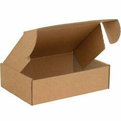 Boxes Fast Bfmfl16124k Deluxe Literature Cardboard Mailers 16 X 12 X 4 Inches...