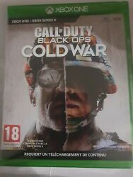 Call Of Duty Black Ops Cold War Xbox One X S _ Vers Franc _ Neuf Cello _ Cd Code