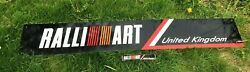The Original Ralliart Uk Hq Sign Parts Merch Catalogues Newsletters Rare Evo